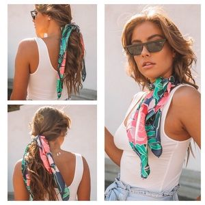 Accessories - ▪️🆕Seaside Satin Scarf